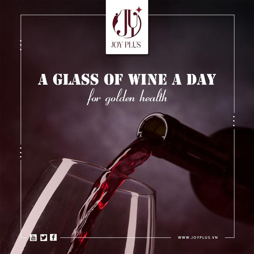 Rượu vang và lợi ích bất ngờ dành cho sức khoẻ của bạn